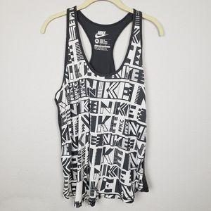 $5 sale Nike spell out racerback tank top XL